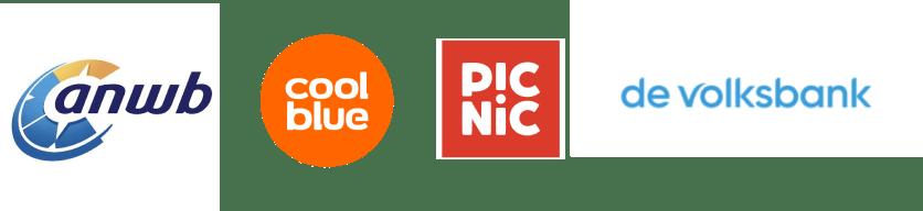 anwb, coolblue, picnic, de volksbank