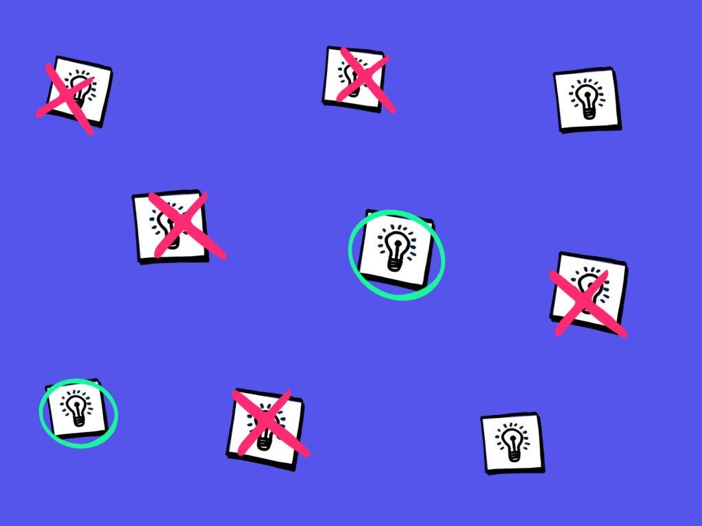 Innovatie in de praktijk: met een goed gevoel je idee loslaten